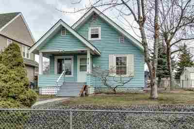 Spokane Single Family Home Chg Price: 418 W Kiernan Ave