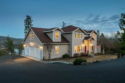 Nine Mile Falls WA Single Family Home Ctg-Inspection: $549,900