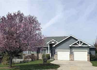 Spokane Valley Single Family Home Ctg-Sale Buyers Hm: 2224 S Steen Rd