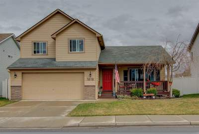 spokane Single Family Home For Sale: 1618 N Corbin Ln