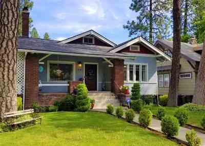 spokane Single Family Home For Sale: 114 W 15th Ave