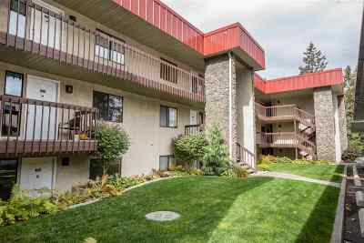 Spokane County Condo/Townhouse For Sale: 166 S Coeur D'alene St #D-304