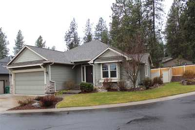 Colbert Single Family Home For Sale: 17017 N Eagle Nest Ln