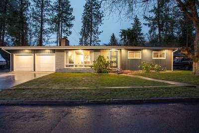Spokane Single Family Home Chg Price: 1303 S Crestline St