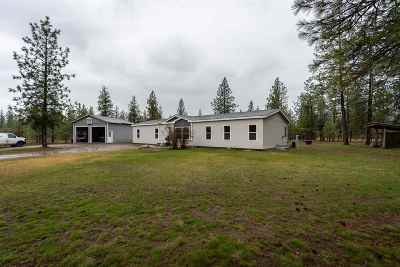 Tumtum Mobile Home For Sale: 5652 Corkscrew Canyon Rd