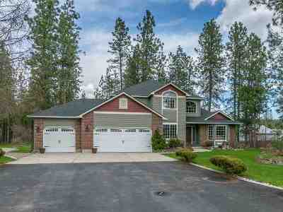 Nine Mile Falls WA Single Family Home Ctg-Sale Buyers Hm: $465,000