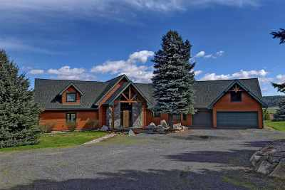 Nine Mile Falls WA Single Family Home Ctg-Inspection: $850,000