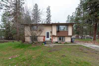 Nine Mile Falls WA Single Family Home Ctg-Inspection: $205,000