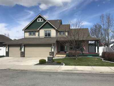 Spokane Valley Single Family Home For Sale: 12837 E 37th Ln