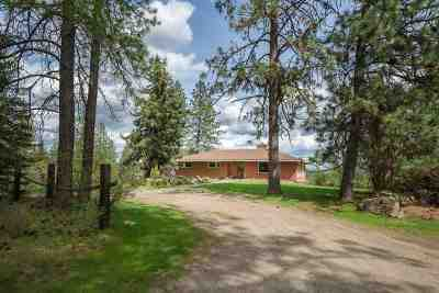Spokane Single Family Home For Sale: 15115 N Hazard Rd