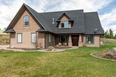 Spokane Single Family Home For Sale: 5120 W Woolard Rd