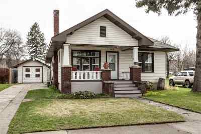 Spokane WA Single Family Home New: $155,000