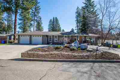 Spokane Valley WA Single Family Home Ctg-Inspection: $292,000