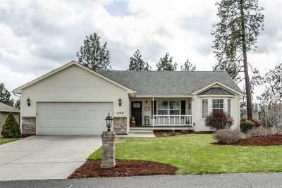 Colbert Single Family Home For Sale: 802 E Upper Terrace Ln