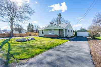 Spokane Valley WA Single Family Home Ctg-Inspection: $279,000