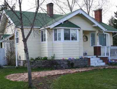 Spokane Valley WA Single Family Home New: $210,000