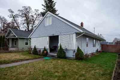 spokane Single Family Home New: 1404 E Providence Ave