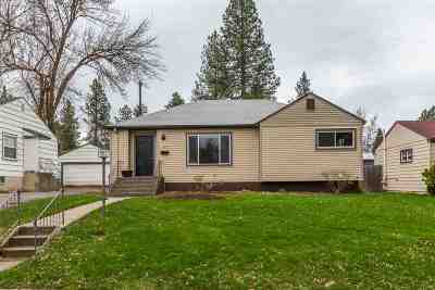 Spokane Single Family Home For Sale: 1312 E 41st Ave