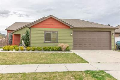 Spokane Valley WA Single Family Home New: $289,900