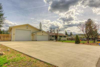 Nine Mile Falls WA Single Family Home Sold: $380,000