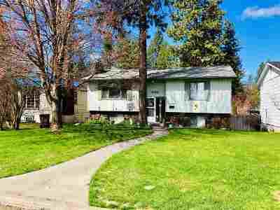 Spokane Single Family Home Active/No Show: 3108 S Lamonte St