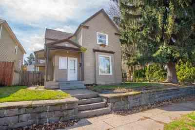 Spokane Multi Family Home New: 406 E 7th Ave