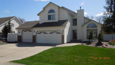 Spokane Single Family Home For Sale: 3826 S Loretta Dr