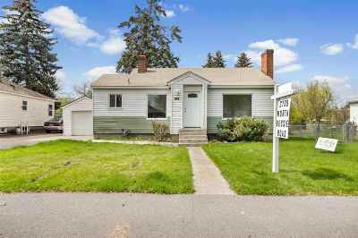 Spokane Valley WA Single Family Home New: $225,000