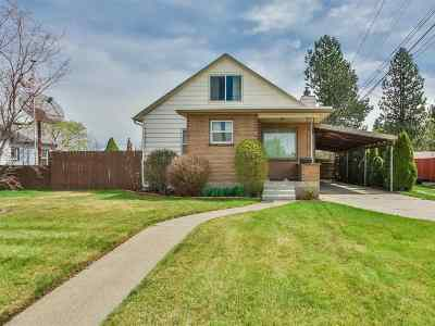 Spokane WA Single Family Home New: $185,000