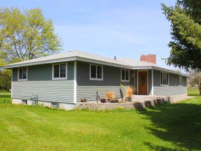 Otis Orchards Single Family Home Chg Price: 4605 N Simpson Rd