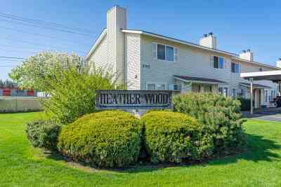 Spokane Valley Condo/Townhouse For Sale: 2105 N Houk Ave #4