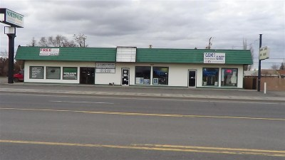 Airway Heights Commercial For Sale: 13514 W Sunset