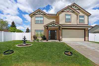 Spokane Valley Single Family Home Chg Price: 14705 E Boone Ln