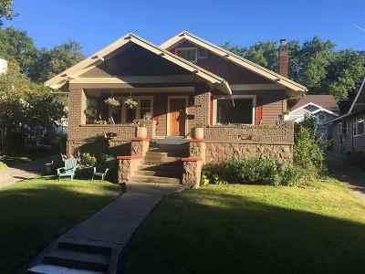 Spokane, Spokane Valley Single Family Home For Sale: 611 W 21st Ave