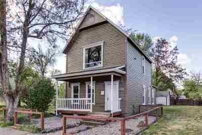 Spokane Single Family Home For Sale: 1910 W Bridge Ave