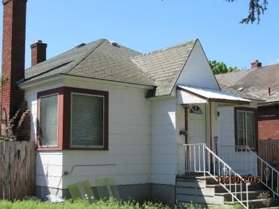 spokane Single Family Home For Sale: 710 S Ivory St