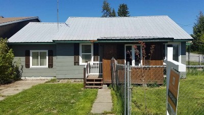 Metaline Single Family Home For Sale: 105 S Selkirk St