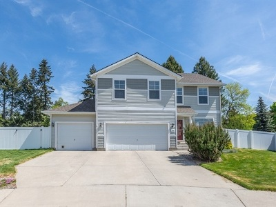 Spokane Valley Single Family Home Ctg-Inspection: 2307 N Greenacres Rd