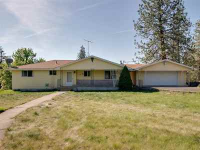 Cheney Single Family Home For Sale: 13113 S Cheney Spokane Rd