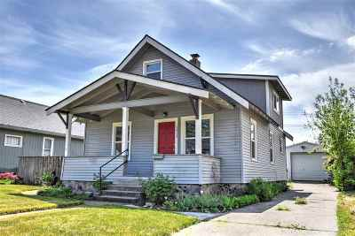Spokane Single Family Home New: 1813 W Cleveland Ave