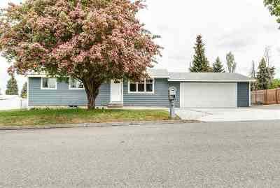 Spokane Valley Single Family Home Ctg-Inspection: 821 S Collins Rd