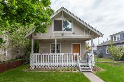 Spokane Single Family Home New: 1614 W Grace