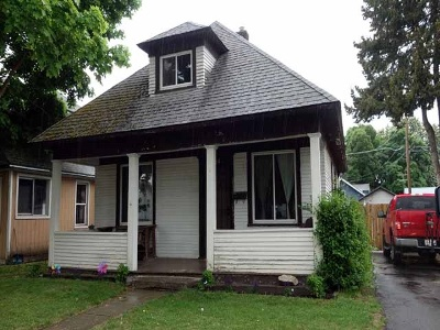 Spokane Single Family Home New: 824 E Bridgeport Ave