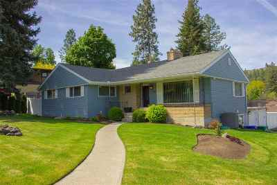spokane Single Family Home New: 7809 N Excell Dr
