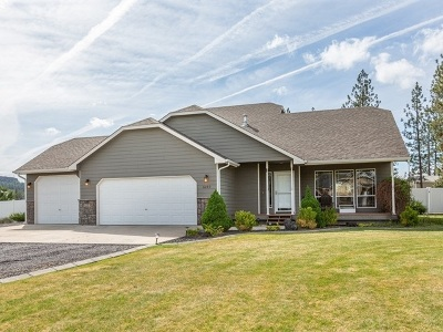 Nine Mile Falls WA Single Family Home Ctg-Inspection: $350,000