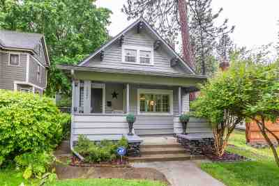Spokane Single Family Home Active/No Show: 1921 W 8th Ave