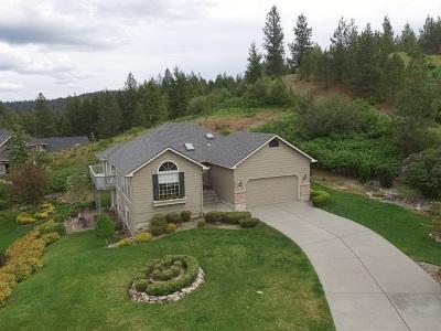 spokane Single Family Home Bom: 6225 S Eagle Crest Dr