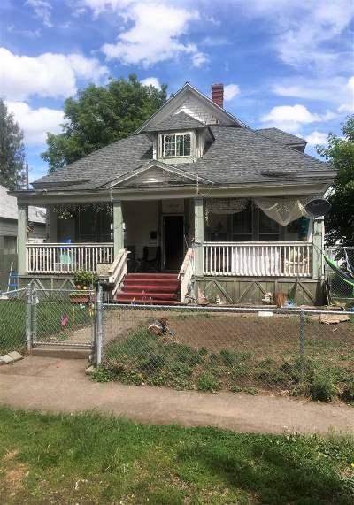 Spokane Single Family Home New: 1908 W Gardner Ave