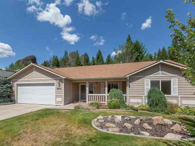 Nine Mile Falls WA Single Family Home Ctg-Inspection: $297,500