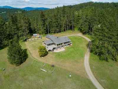 Spokane Single Family Home Bom: Xxxx E Temple Rd
